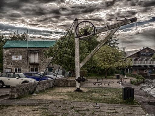 Holidays: Wharf Crane at Newbury.