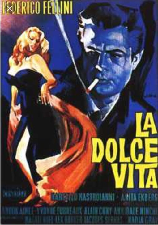 Alexis: La Dolce Vita Cinema Poster.