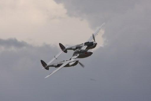 Flying Legends Duxford. Lockheed Lightning. Beautiful aeroplane.