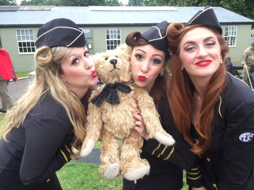"""Flying Legends Duxford. New Supergroup: """"Bertie & the Manhattan Dolls""""! What do you think?"""