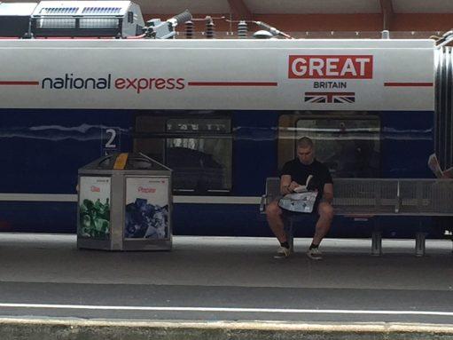 Germany: British Train! Look familiar?