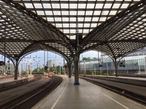 Germany: Cologne Station.