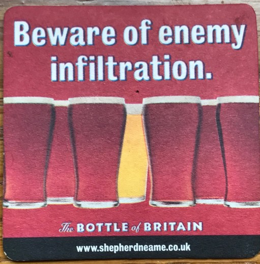 Heatwave: Beware of enemy infiltration. The Bottle of Britain.