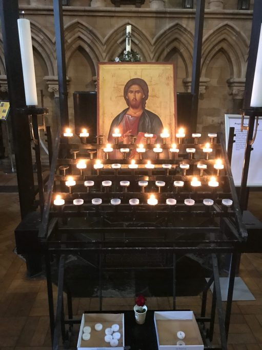 Seaside Holiday: Lighting a Candle for Diddley - Southwark Cathedral London