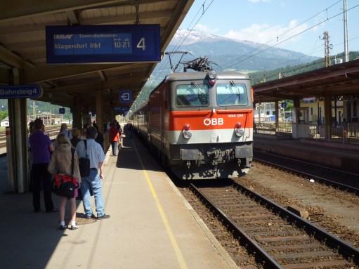 Trainspotter: Train to Munich.