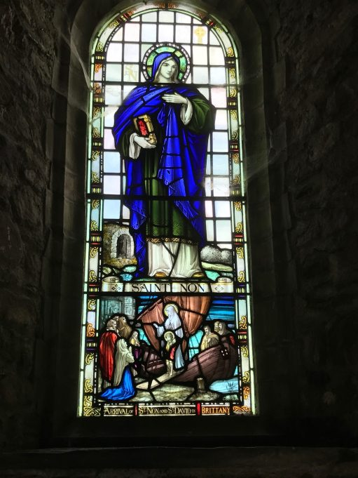 Brighton: St Nons Church - Stained Glass Window.