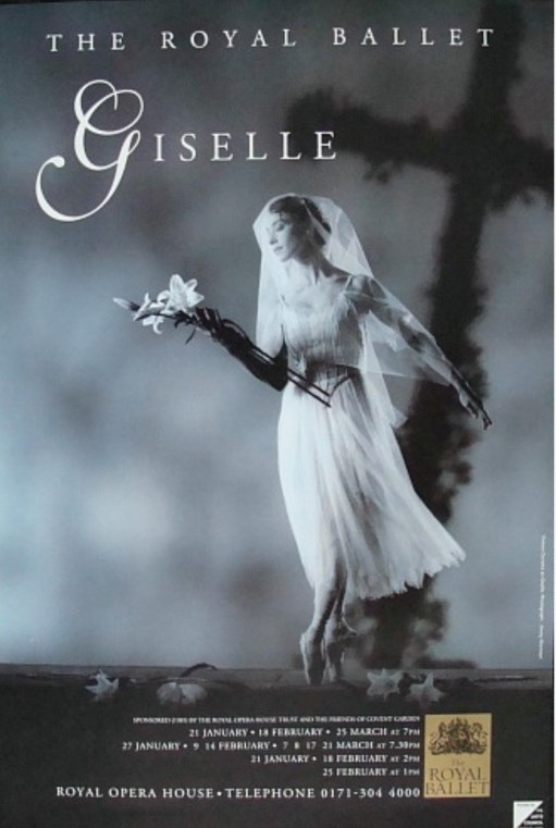Giselle Eagle: Royal Ballet poster.