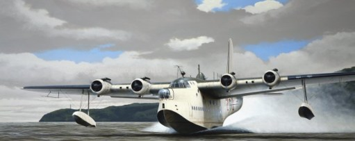 Kate Strudwick: Sunderland Flying Boat.