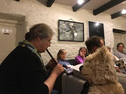 Kate Strudwick: Enjoying a Musical Evening.
