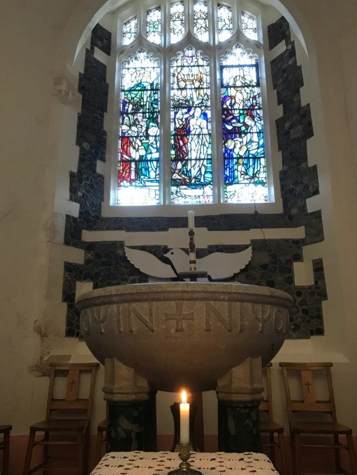 Gigrin Farm: Lighting a Candle for Diddley - The graciously supplied candle lit for Diddley.
