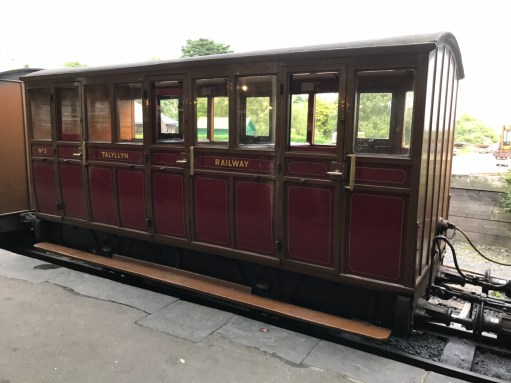 Great Little Trains of Wales: 1866 carriage.