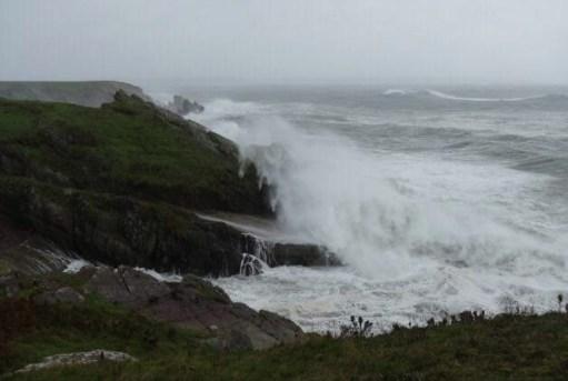 Little White Van: Stormy Waves.