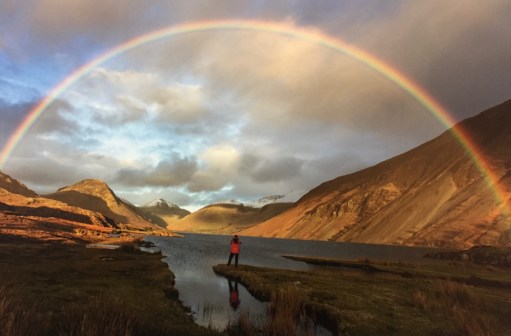 Samll Talk Saves Lives: Wastwater Lake District. A finalist in Landscape Photographer of the Year.