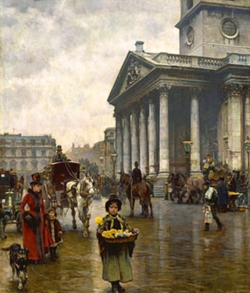 Small Talk Saves Lives: Lightin a Candle for Diddley - St Martins in the Fields in the days of Mary Poppins.