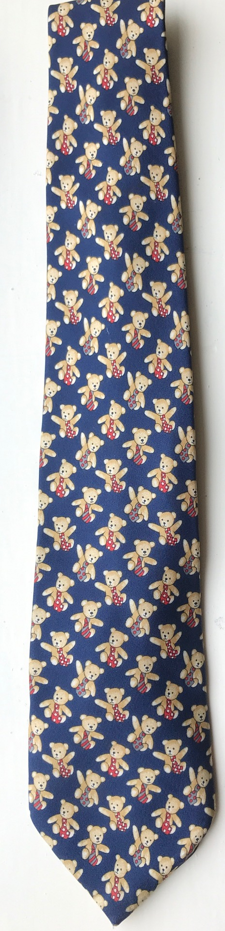 "Ties: The now Official ""Mindfully Bertie"" tie."