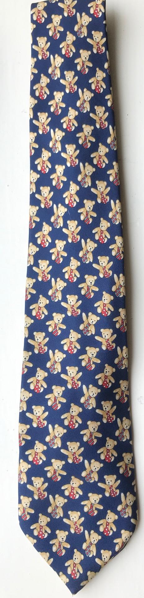 "Ties: The now Official ""Mindfully Bertie"" tie."