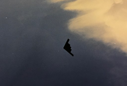 I Died Today: B2 Spirit Stealth Bomber.