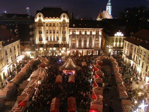 The Kitchen Window: Bratislava Christmas Market.