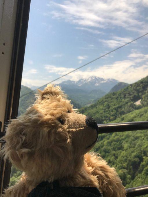 Salzburg: Admiring the scenery.
