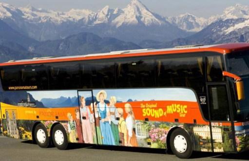 Salzburg: The Tour Bus.