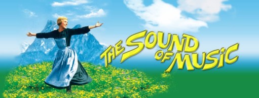 "Salzburg: The famous ""Sound of Music"" film poster."