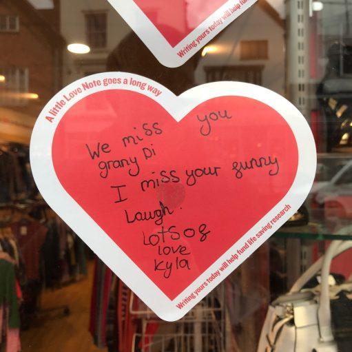 Salut d'Amour: Kyla's Sign.