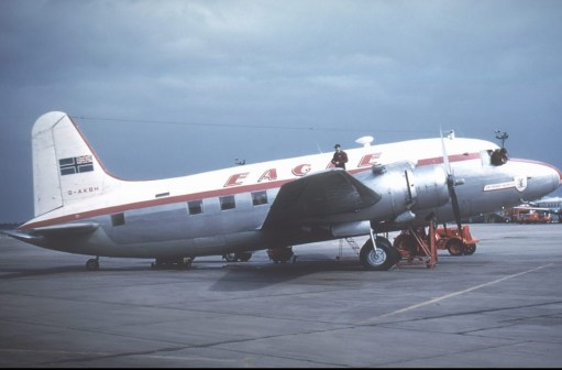 Trevor's Stickies: Eagle Airways - early Vickers Viking.