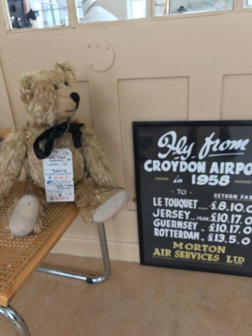 Croydon Airport: 1958 prices!