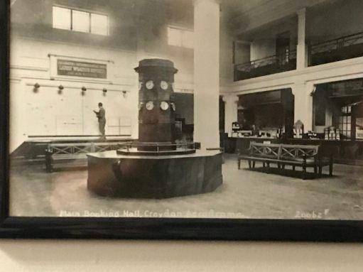 Croydon Airport: Booking Hall.