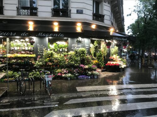 Paris: Florist Shop.