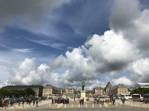 Paris: The Palace of Versailles.