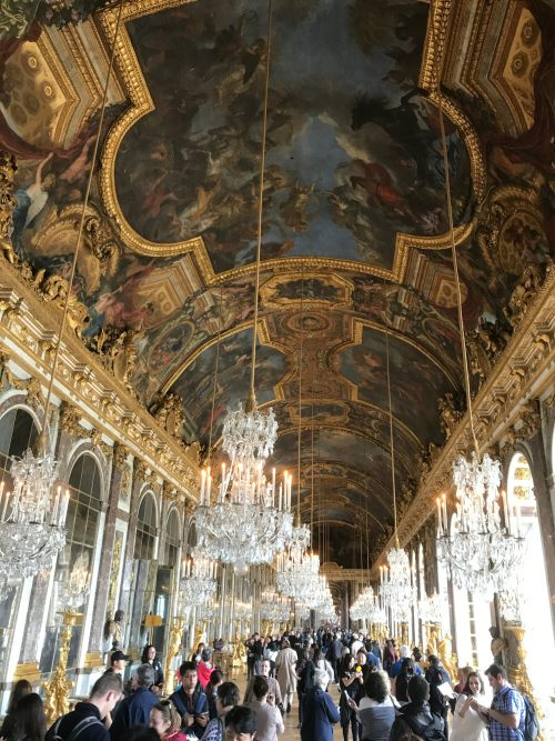 Paris: The Hall of Mirrors.