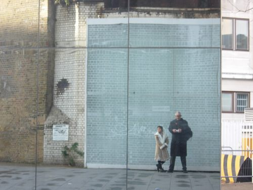 Special One: Bobby took a selfie on a mirror wall. Nobody suspected they were a King and Princess.