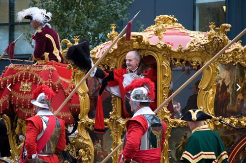Special One: The Lord Mayor in his gold coach.