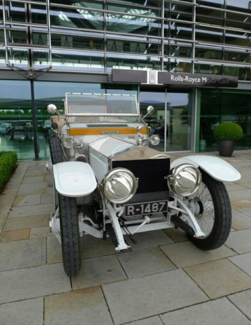 "Special One: ""Nellie"", at Rolls-Royce, Goodwood."