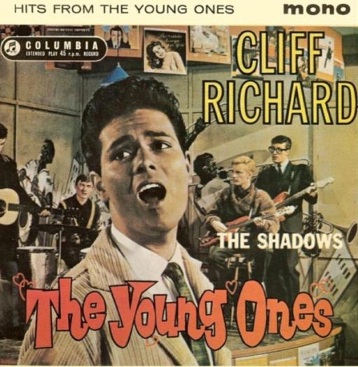 "Sir Cliff Richard: ""Hits from the Young Ones"" Album Cover. Note - in glorious mono!"