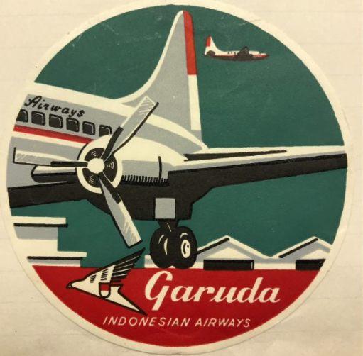 Trevor and Henry: Garuda. Indonesian Airways.