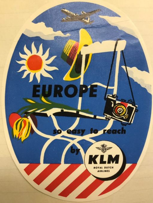Trevor and Henry: KLM. Royal Dutch Airlines. Netherlands