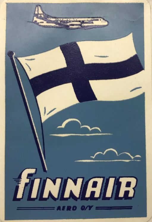 Trevor and Henry: Finnair. Finland