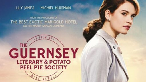 Good Thinking: The Guernsey Literary & Potato Peel Pie Society film poster.