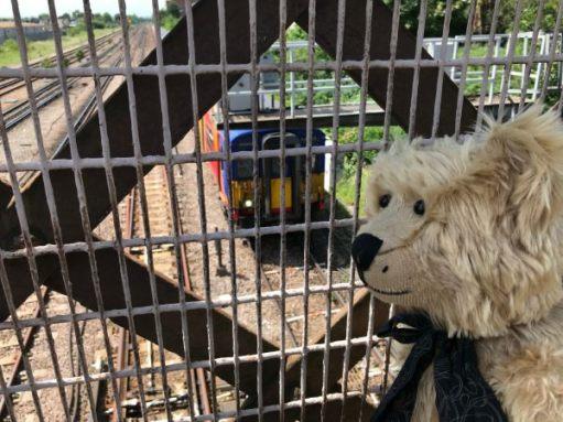 The Footbridge: Dorking to Waterloo Service.