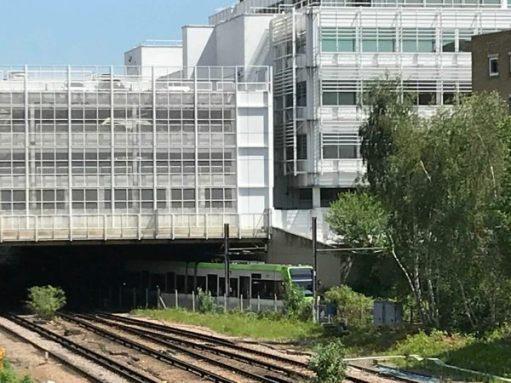 The Footbridge: Croydon Tramlink.