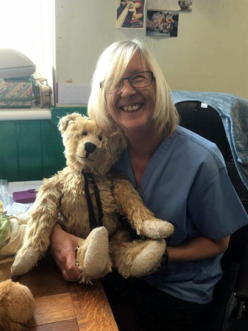 Missed you Bertie: Nurse Lesley.