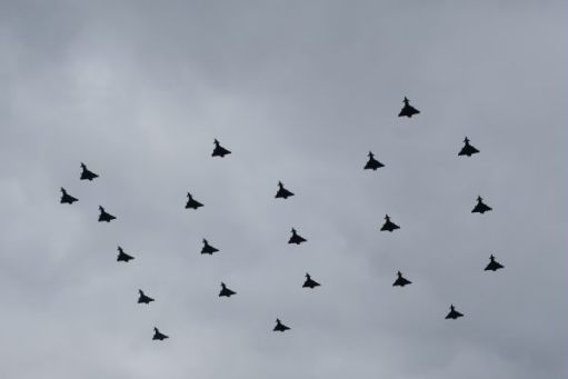 RAF 100: 100, in twenty two Typhoons.