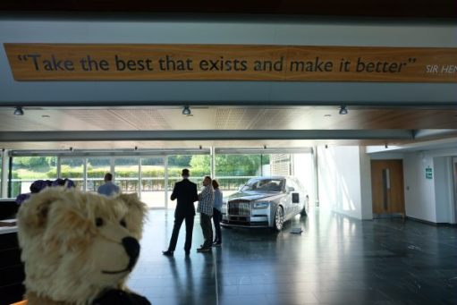 "Rolls-Royce: ""Take the best car that exists and make it better."" Sir Henry Royce."