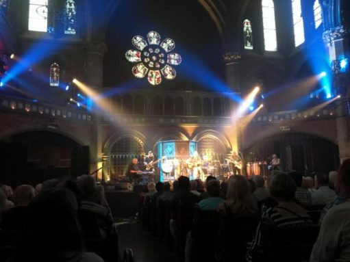 Lonnie Donegan: The awesome Union Chapel, Islington.