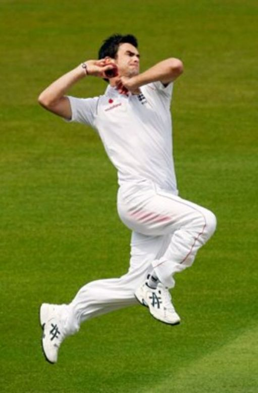 I woz there: Jimmy Anderson.