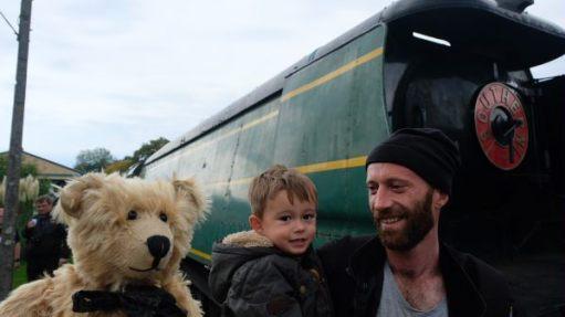 From a Railway Carriage: Bertie. Jay (junior), Jay (senior).