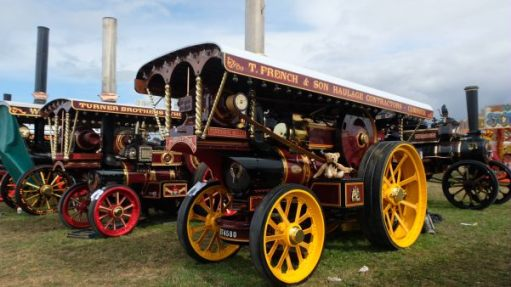 Great Dorset Steam Fair: Glorious showman engines. Over one hundred powering the steam fair.