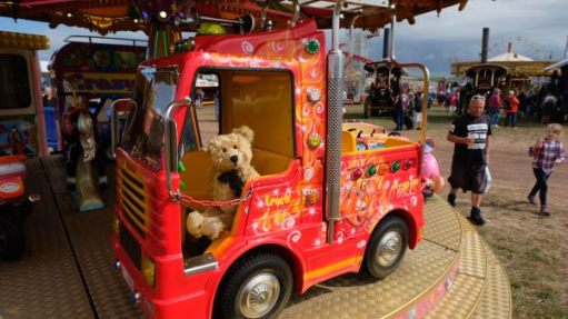 """Great Dorset Steam Fair: """"Bobby - Don't leave me!"""""""